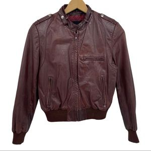 Wilson's Suede & Leather Smooth Leather Jacket 16